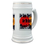 Shopping Therapy Beer Stein