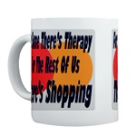 Shopping Therapy Coffee Cup