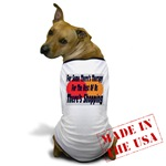 Shopping Therapy Dog T-Shirt