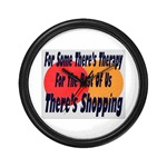 Shopping Therapy Wall Clock