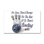For some there's therapy, for the rest of us there's bowling