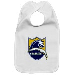 Chargers Bolt Shield Bib