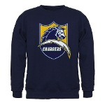 Chargers Bolt Shield Dark Sweatshirt