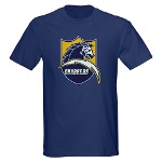 Chargers Bolt Shield Dark T-Shirt