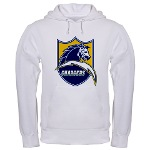 Chargers Bolt Shield Hooded Sweatshirt