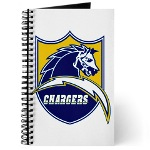 Chargers Bolt Shield Journal