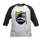 Chargers Bolt Shield Kids Baseball Jersey