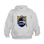 Chargers Bolt Shield Kids Hoodie