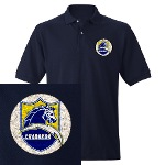 Chargers Bolt Shield Men's Polo