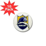 Chargers Bolt Shield Mini Button (10 pack)