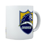 Chargers Bolt Shield Mug