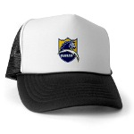 Chargers Bolt Shield Trucker Hat