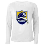 Chargers Bolt Shield Women's Long Sleeve T-Shirt