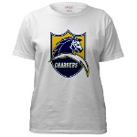 Chargers Bolt Shield Women's T-Shirt