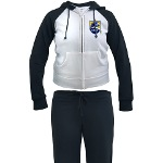 Chargers Bolt Shield Women's Tracksuit