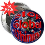 Stop Global Whining 10 Pack Button