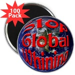 Stop Global Whining 100 Pack Magnets