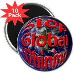 Stop Global Whining 10 Pack Magnets