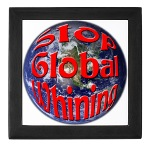 Stop Global Whining Keepsake Box