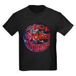 Stop Global Whining Kids Dark T-Shirt