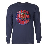Stop Global Whining Long Sleeve Dark T-Shirt