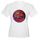 Stop Global Whining Women's V-Neck T-Shirt