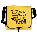 Golf Therapy Messenger Bag