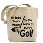Golf Therapy Tote Bag