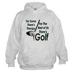 Golf Therapy Hooded Sweatshirt