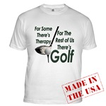 Golf Therapy Fitted T-Shirt