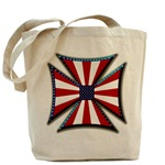 American Maltese Cross Tote Bag